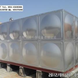 黄山不锈钢消防水箱,圆柱形水箱,膨胀水箱厂家选金博水箱厂