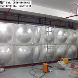 淮南不锈钢消防水箱,圆柱形水箱,玻璃钢水箱,膨胀水箱厂家