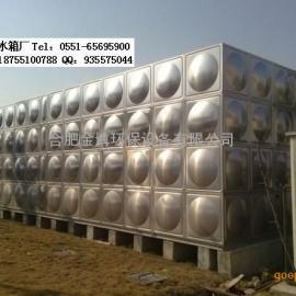 安徽不锈钢消防水箱,圆柱形水箱,膨胀水箱价格最低厂家