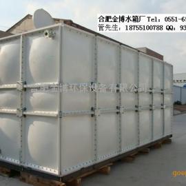 肥东玻璃钢消防水箱/金博圆柱形水箱/消防水箱/不锈钢水箱