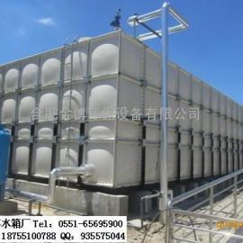 铜陵玻璃钢消防水箱/圆柱形水箱/金博不锈钢膨胀水箱/储水罐