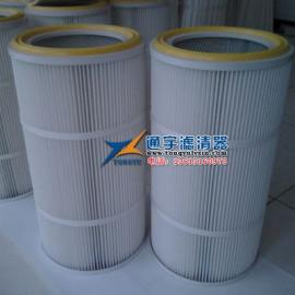 高效除尘滤芯-k3266除尘滤筒-PTFE覆膜滤筒