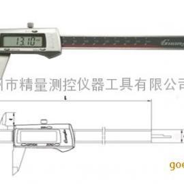 广陆合金测面数显卡尺