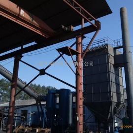 7吨玛钢冲天炉烟气治理
