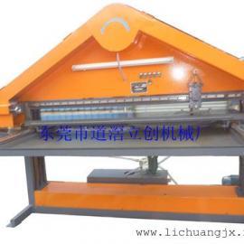 水磨滑轨式压板三角拉丝机 三角砂带机 平面自动拉丝机LC-SL6200