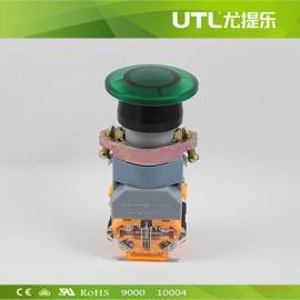 LA110-A2-MD 带灯蘑菇钮 瞬动型按钮 自锁型按钮  带灯按钮开关