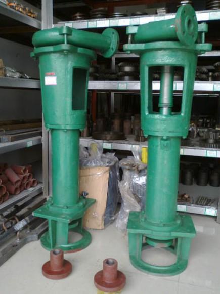 【1pnl立式污泥杂质泵】结构:   2 泵体 7 轴承箱 3 叶轮 8 出水管 4
