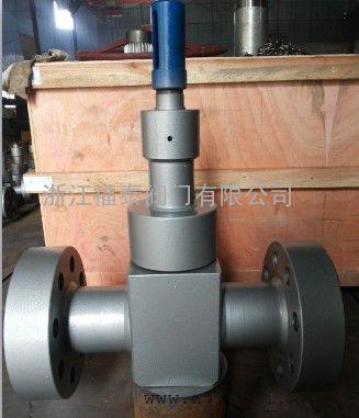 SLJ41Y-420高压锻造双作用节流截止阀