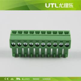 MA1.5/H3.50(3.81) 插拔式 铜接线端子
