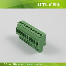 MA1.5/V3.50(3.81) 防阻燃插拔式铜接线端子