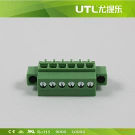 MA1.5/VF3.50(3.81)工业插拔式接线端子