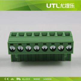 MA2.5/H5.0(5.08)欧式大电流插拔式线端子