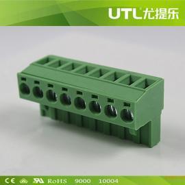 尤提乐MA2.5/HF5.0(5.08)插拔式铜接线端子