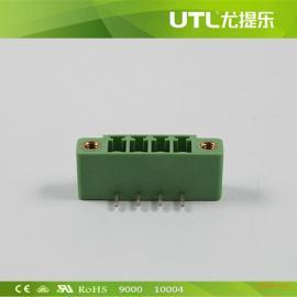 MB1.5/H3.5(3.81) 欧式导轨插拔式接线端子