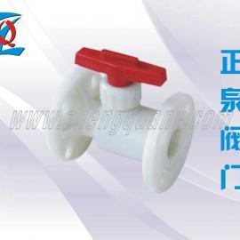 Q11F-10S PVDF法�m球�y
