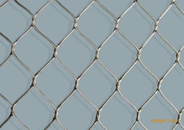 >> 山西长治钢丝绳编织网|动物园用网|编织绳网|边坡防护网  长治市龙