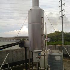 惠州锅炉脱硫设备、316不锈钢喷淋塔