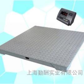 SCS-P771-3吨小地磅1*1M碳钢防腐地磅KS