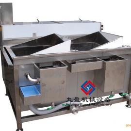 多功能洗菜机,自动翻转两槽洗菜机,虾米西兰花清洗机TJ-200-2