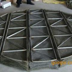 不锈钢丝网除沫器 不锈钢气液分离器―安平华莱金属丝网