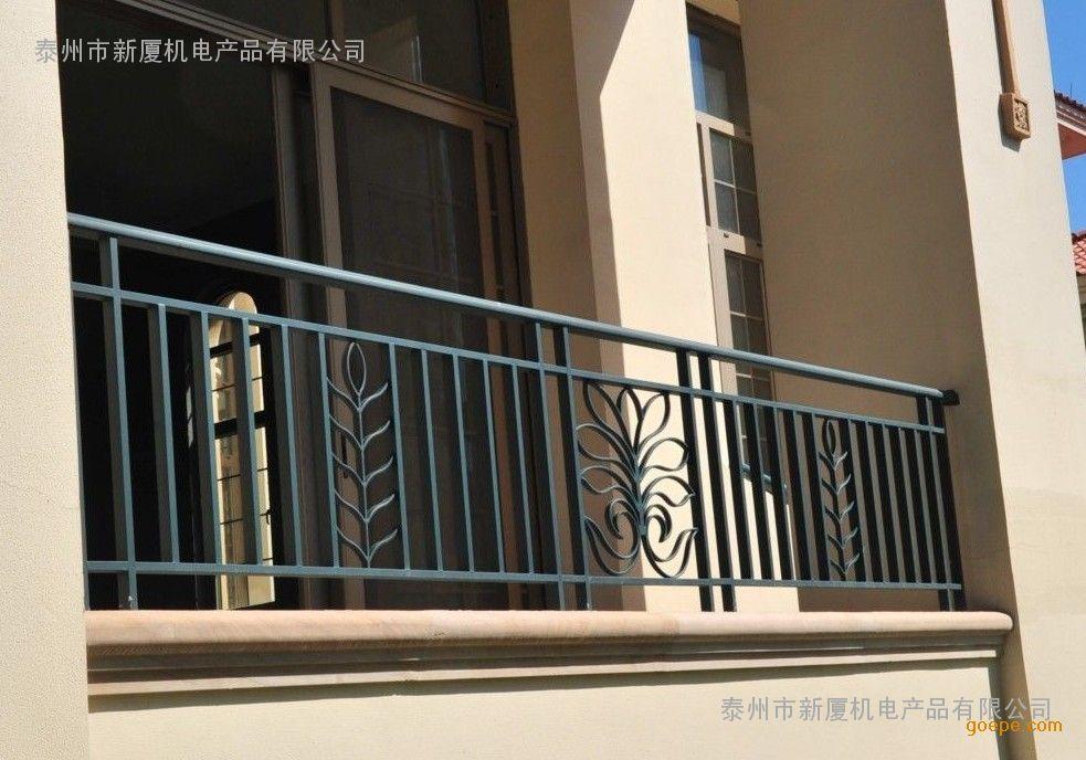 阳台栏杆、窗护栏检验