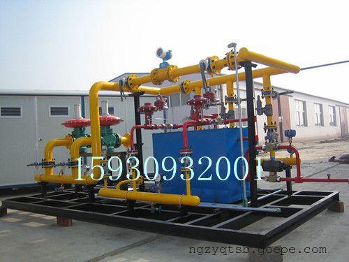减压计量加臭撬compressure unit,增压撬regulator unit,压力控制阀组图片