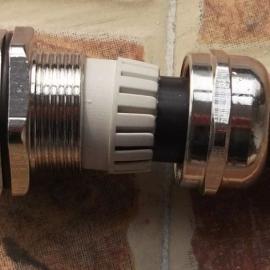 金属防水接头-铜镀镍电缆接头