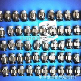 温州乐清市气动接头厂家//螺纹接头直通快插EPC8-02