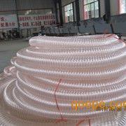 pu耐磨输料软管,工业集尘pu管,pu钢丝软管,负压管