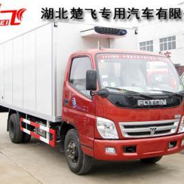 3吨冷藏车|福田奥铃3吨冷冻车