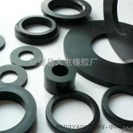专业生产大型大规格大尺寸钢厂无骨架橡胶密封垫圈丁腈胶氟橡胶
