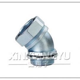 金属接头,45度软管接头,防水软管接头