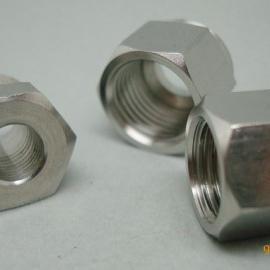 304不锈钢非标螺母定制,316圆螺母生产