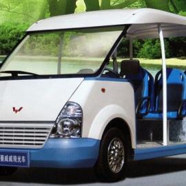重庆那里有8座的燃油观光车