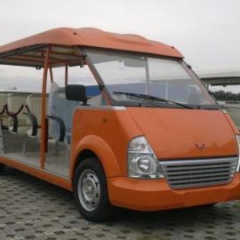 供应重庆地区14人座燃油观光车