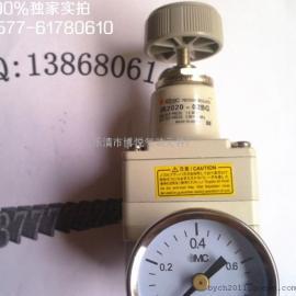 【现货批发】精密调压阀IR2020-02/日本气动元件/带表带支架