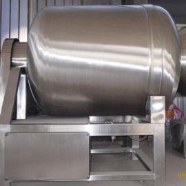 直销300L全自动鲜虾腌制真空滚揉机