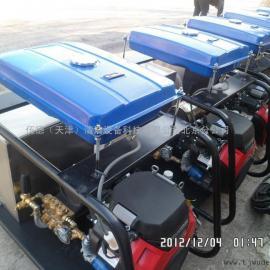 本田汽油机驱动下水道清洗机