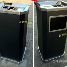 连云港超市不锈钢垃圾桶制作价格- 徐州方形不锈钢垃圾桶定做