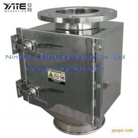 箱式格栅除铁器,案式除铁器,磁棒除铁器,干粉除铁器