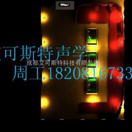 广安雅安巴中ktv吸音隔音材料声学设计装修ktv噪音治理