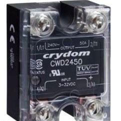 快达Crydom固态继电器CWD2450P 50A