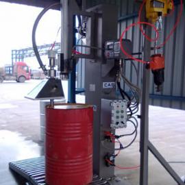 化工、油脂、润滑油自动称重灌装机200升灌装机