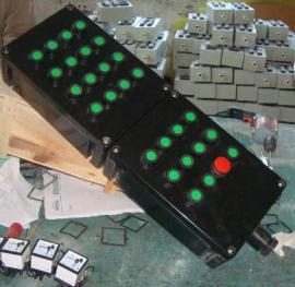 防水防尘防腐控制箱 依客思订做带灯带钮控制箱