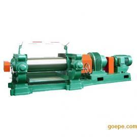 22寸EVA卷材炼塑机_两辊开放式炼胶机炼塑机价格_大型轴承炼胶机&