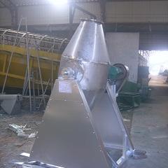 大华优质304白口铁转鼓式融入机 环保型W型双锥融入机