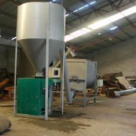 临沂节能型涂料混合机 腻子粉搅拌灌装生产线