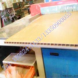 木塑中空格子板生产线|PVC木塑中空板生产线设备