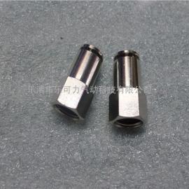 铜气嘴、YPF-B内螺纹直通接头、金属终端气管接头厂家
