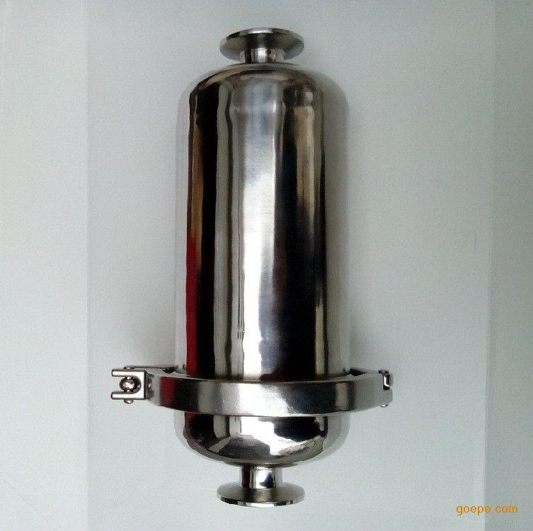 不锈钢卫生级快装卡箍 管道过滤器